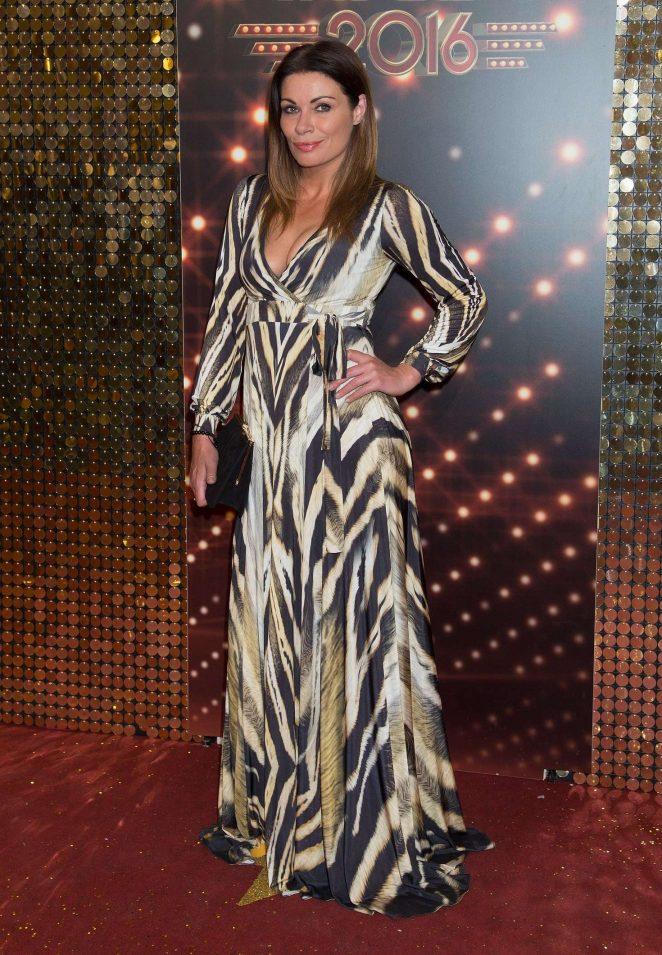 Alison King - British Soap Awards 2016 in London