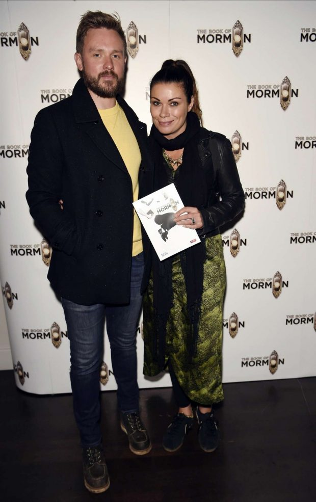 Alison King - The Book of Mormon Press Night in Manchester