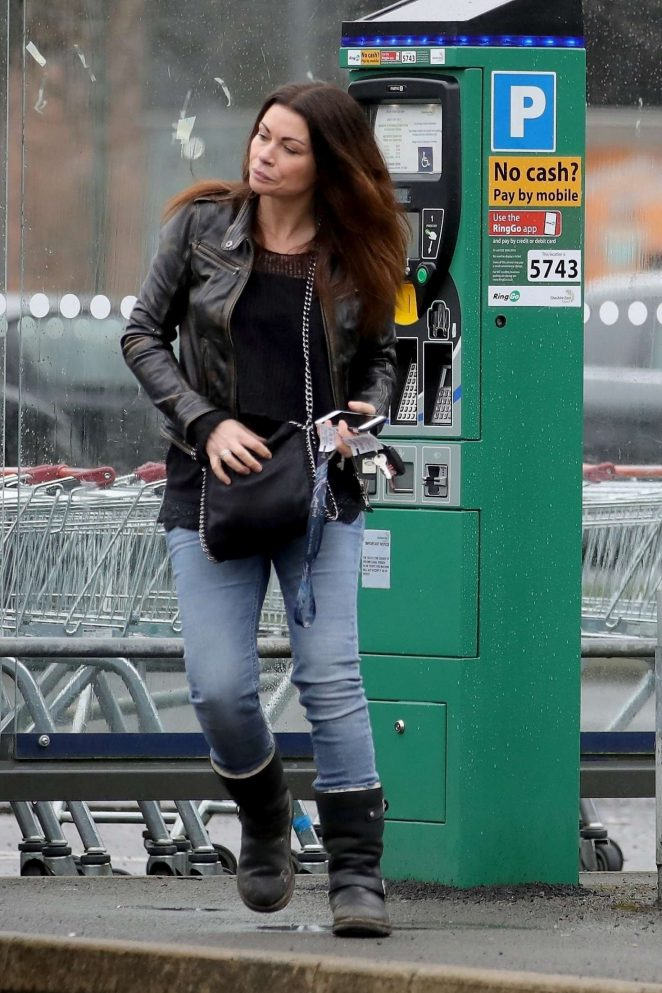 Alison King - Visits Sainsbury's store in Wilmslow