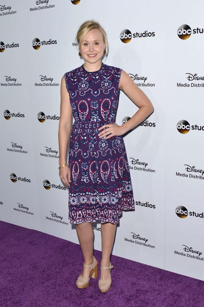 Alison Pill - Disney Media Distribution 2015 International Upfront in Burbank