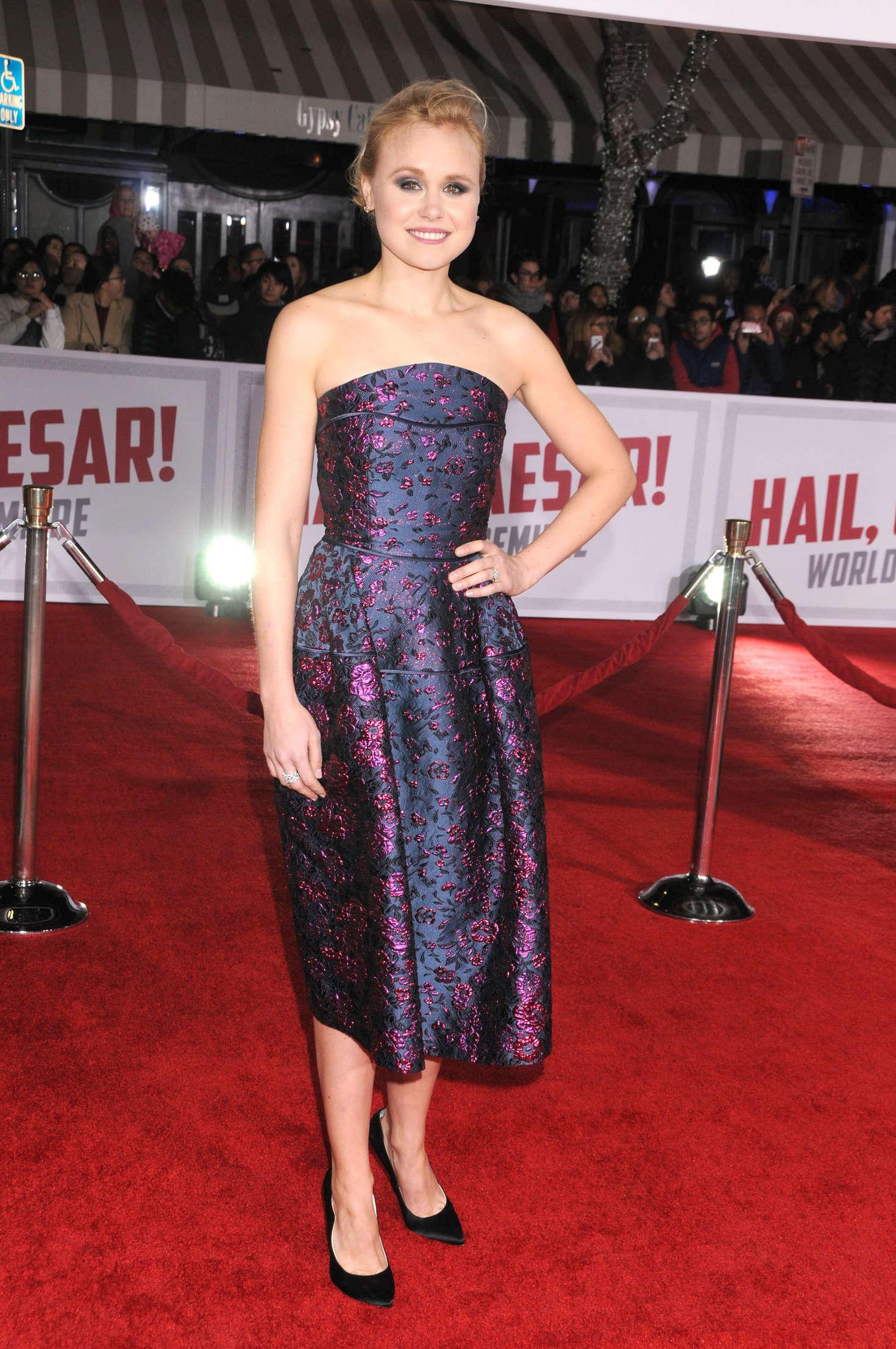Alison Pill - 'Hail, Caesar' Premiere in Westwood