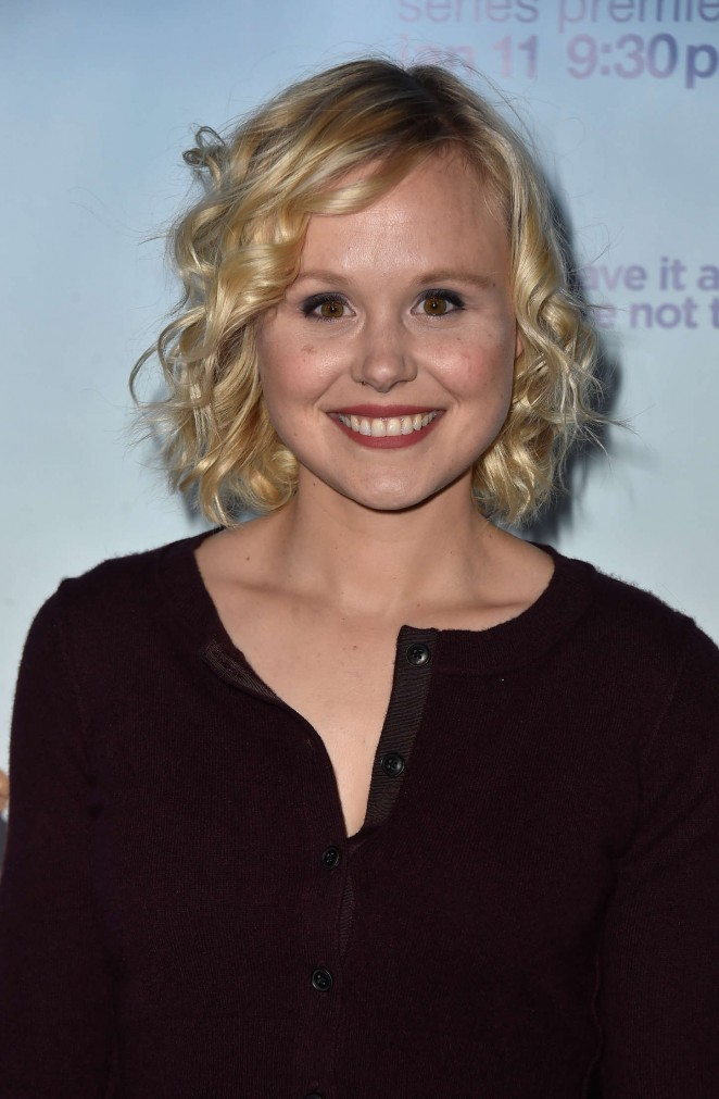 "Alison Pill - HBO's ""Togetherness"" Premiere in Hollywood"