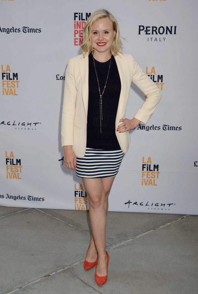 Alison Pill - 'Paint It Black' Premiere at 2016 Los Angeles Film Festival in LA