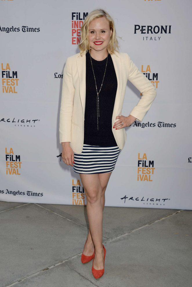 Alison Pill - 'Paint It Black' Premiere at 2016 Los Angeles Film Festival in LA
