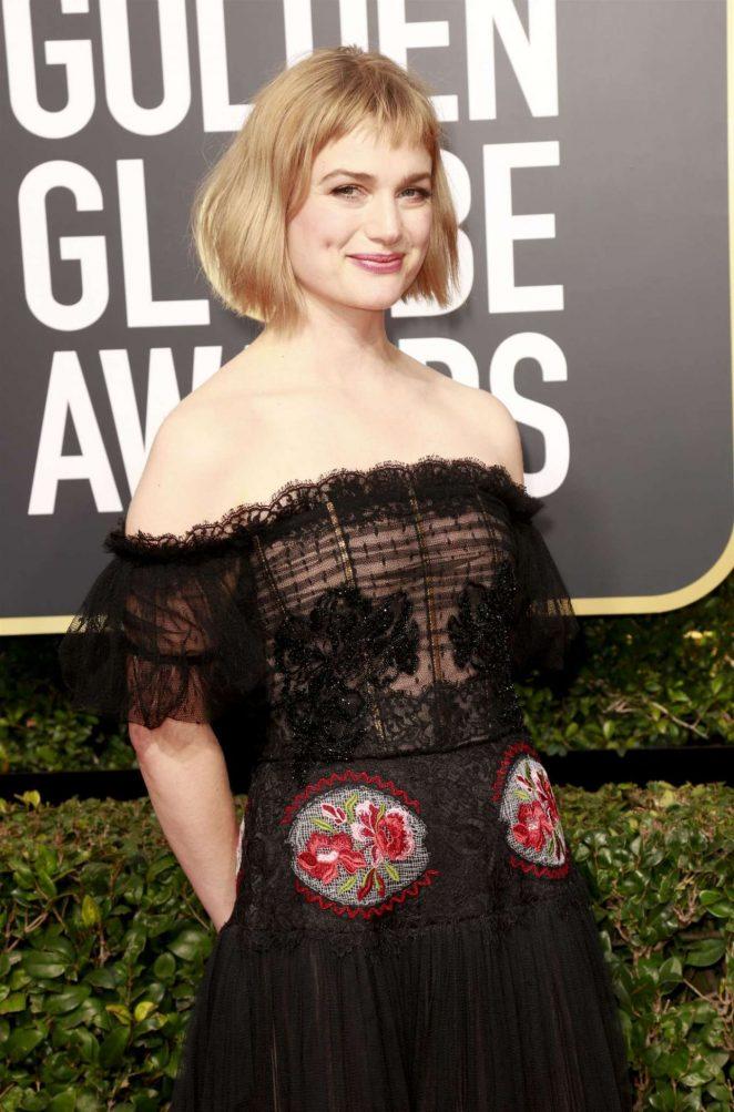 Alison Sudol - 2018 Golden Globe Awards in Beverly Hills