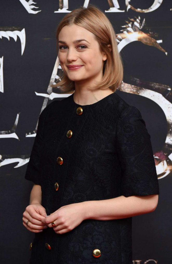 Alison Sudol - 'Fantastic Beasts' Photocall at 2016 London Film Festival