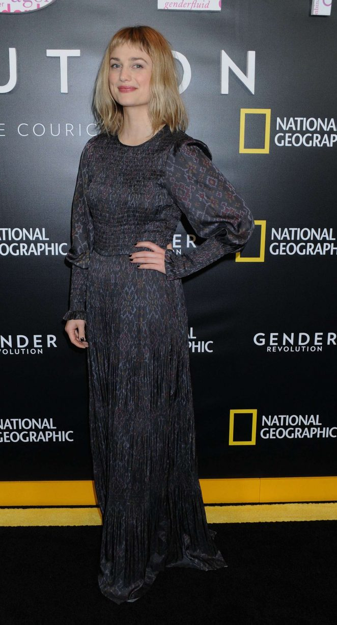 Alison Sudol – Gender Revolution: A Journey With Katie Couric Premiere in New York