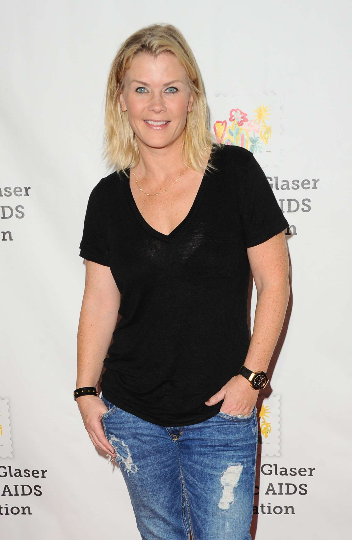 Alison Sweeney Family Pictures alison sweeney: 2017 a time for heroes family festival -03