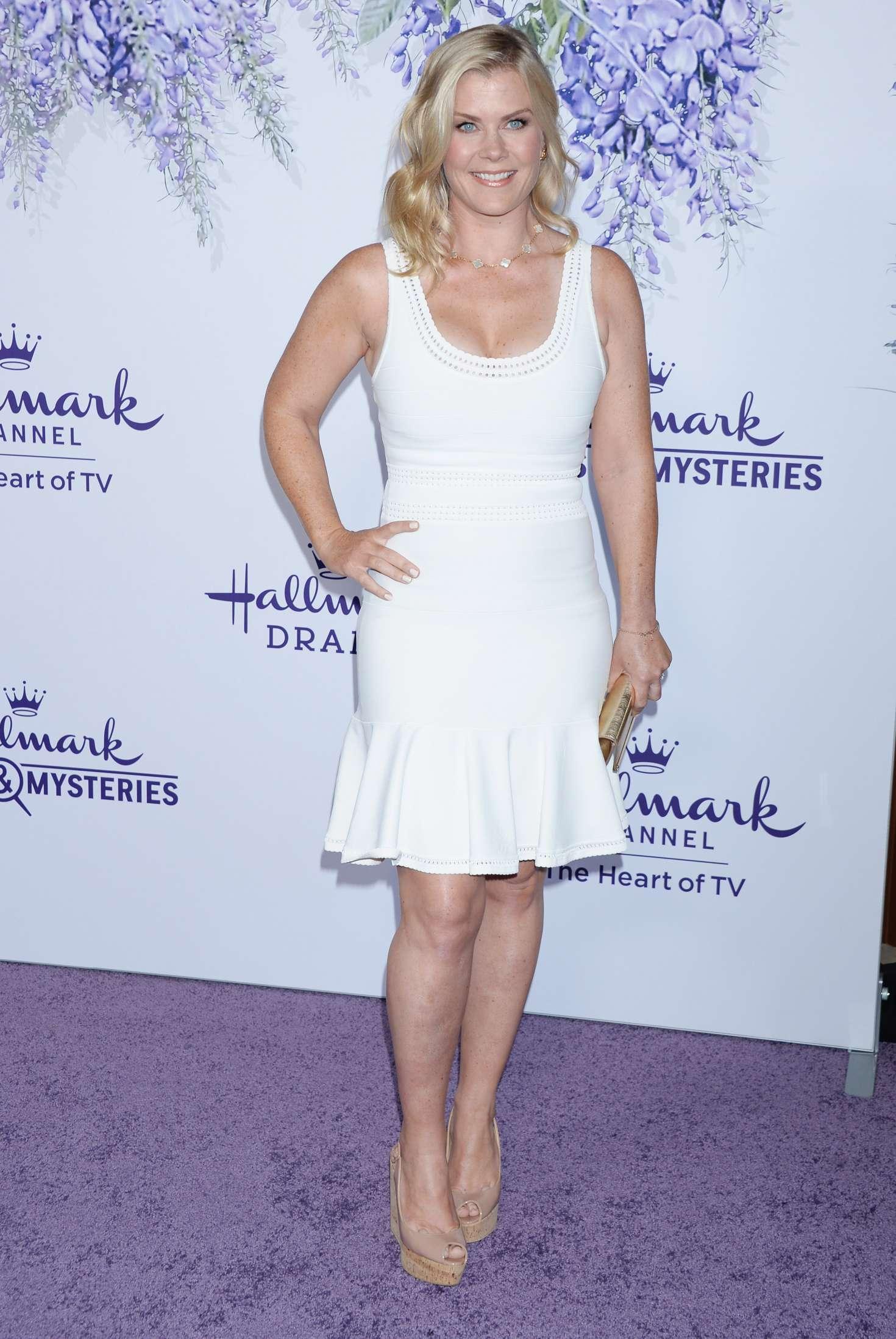Alison Sweeney 2018 : Alison Sweeney: 2018 Hallmarks Evening Gala TCA Summer Press Tour -01