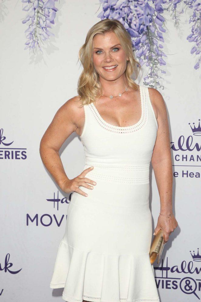 Alison Sweeney - 2018 Hallmark's Evening Gala TCA Summer Press Tour in LA