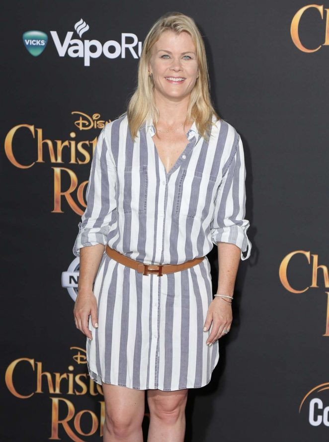 Alison Sweeney - 'Christopher Robin' Premiere in Los Angeles