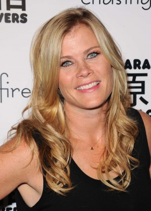 Alison Sweeney - Harajuku Lovers Fall Fashion And Accessory Line For Girls in LA