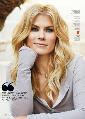 Alison Sweeney - Health Magazine (March 2015)