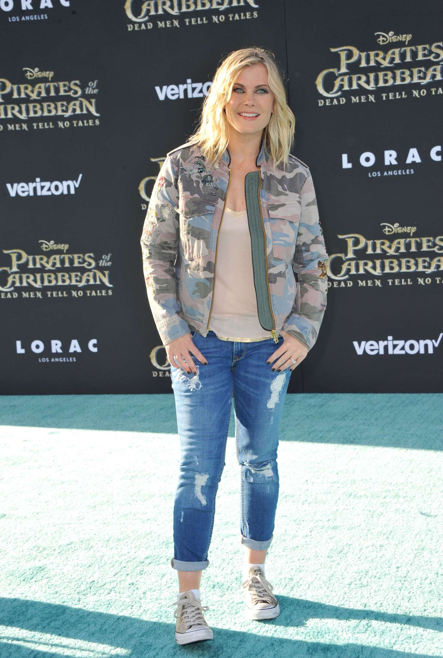 Alison Sweeney - 'Pirates Of The Caribbean: Dead Men Tell No Tales' Premiere in Hollywood