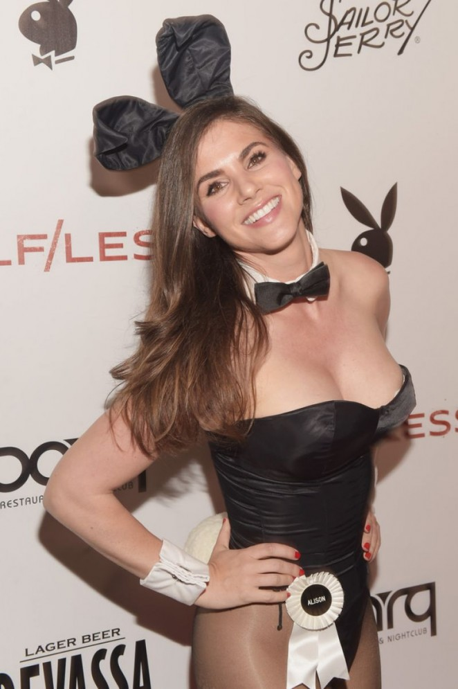 Alison Waite - Playboy Self Less Party at Comic-Con in San Diego