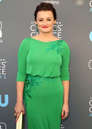 Alison Wright - Critics' Choice Awards 2018 in Santa Monica