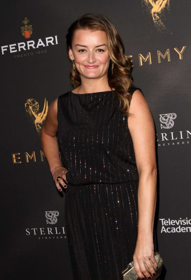 Alison Wright - Emmys Cocktail Reception in Los Angeles