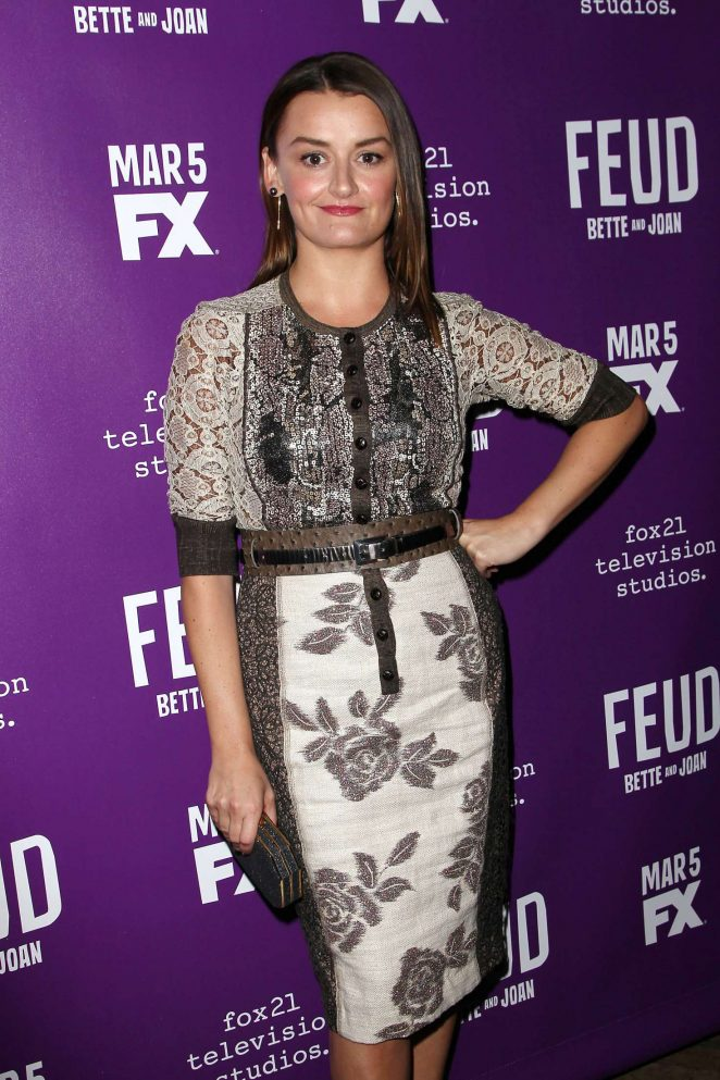 Alison Wright - 'Feud' Premiere in New York