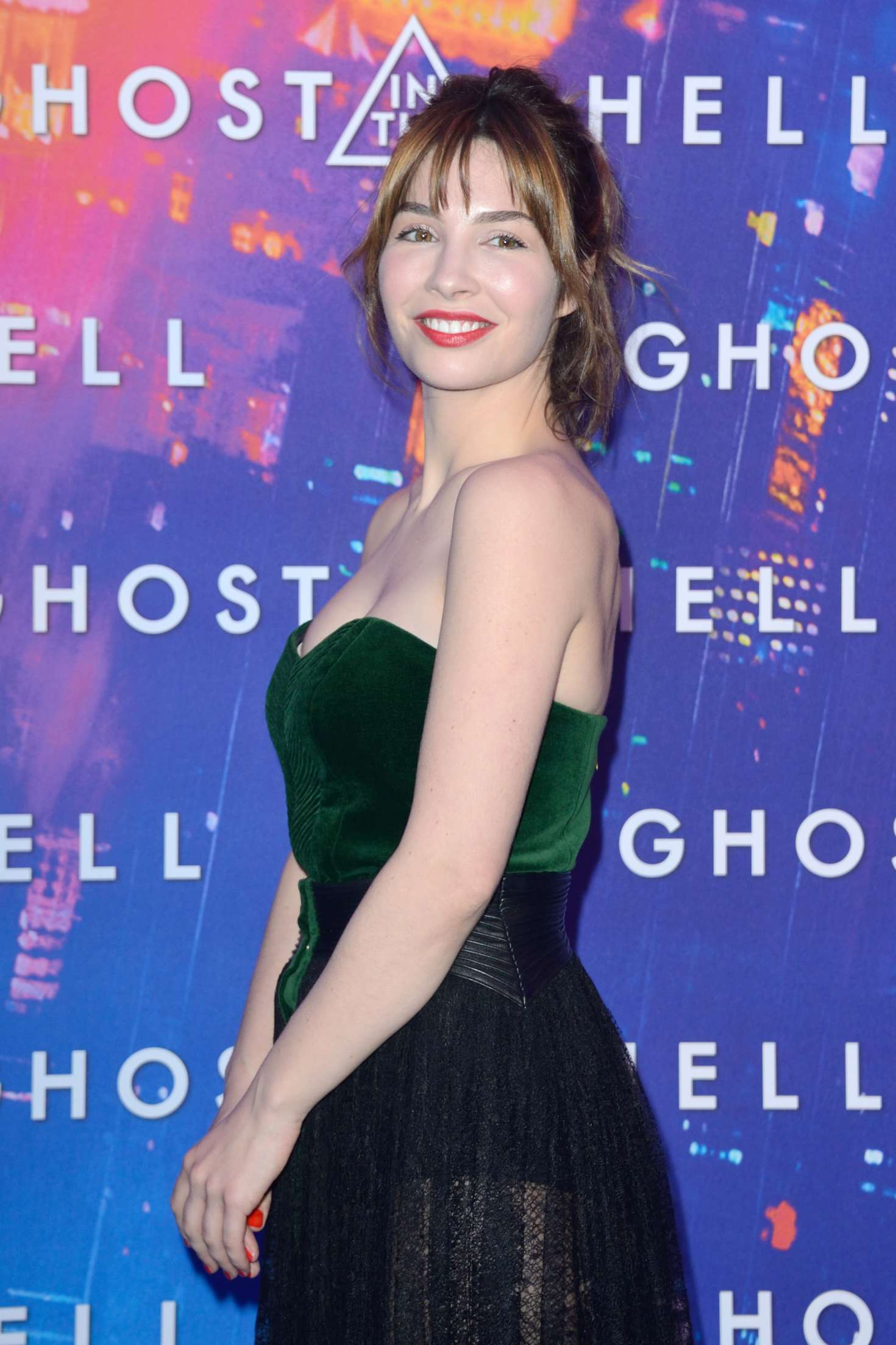 Alix Benezech – 'Ghost in the Shell' Premiere in Paris
