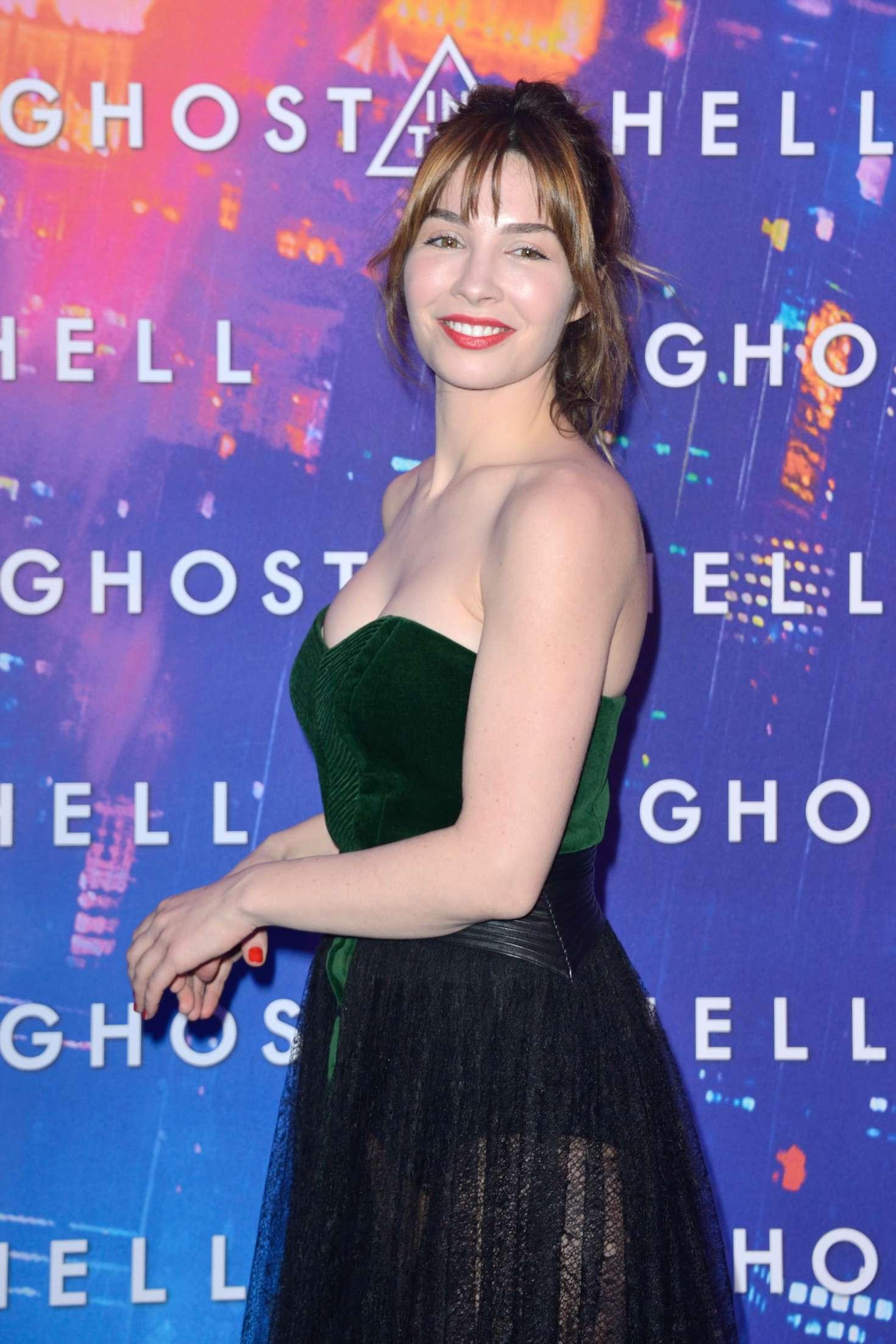 Alix Benezech alix benezech: ghost in the shell premiere in paris -03