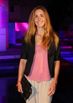 Alize Cornet - 2015 China Open Player Party in Beijing