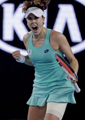 Alize Cornet - 2018 Australian Open Grand Slam in Melbourne - Day 3