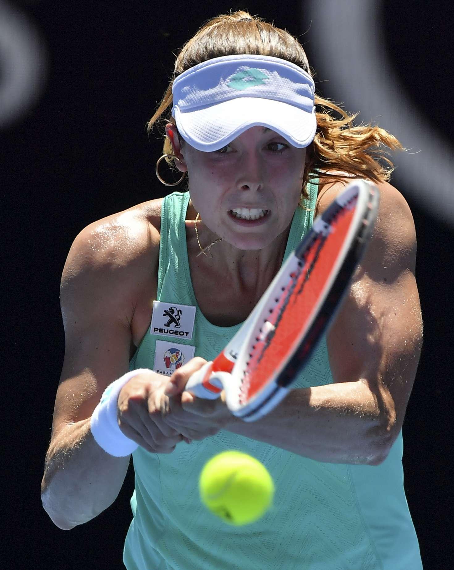 Alize Cornet - 2018 Australian Open in Melbourne - Day 5
