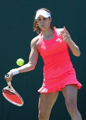 Alize Cornet - 2018 Miami Open in Key Biscayne