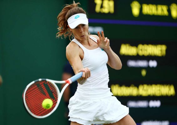 Alize Cornet - 2019 Wimbledon Tennis Championships in London
