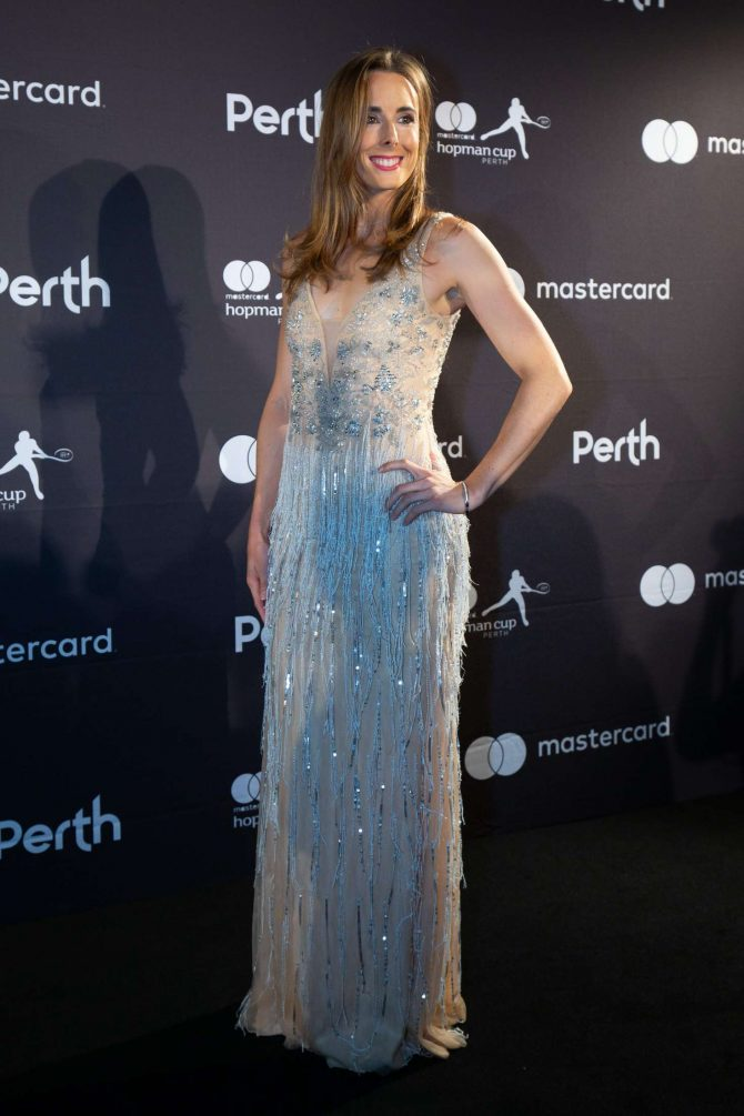 Alize Cornet - Hopman Cup New Year's Eve Gala in Perth