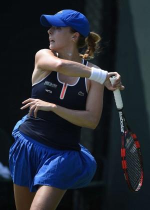Alize Cornet - Miami Open 2015 in Key Biscayne