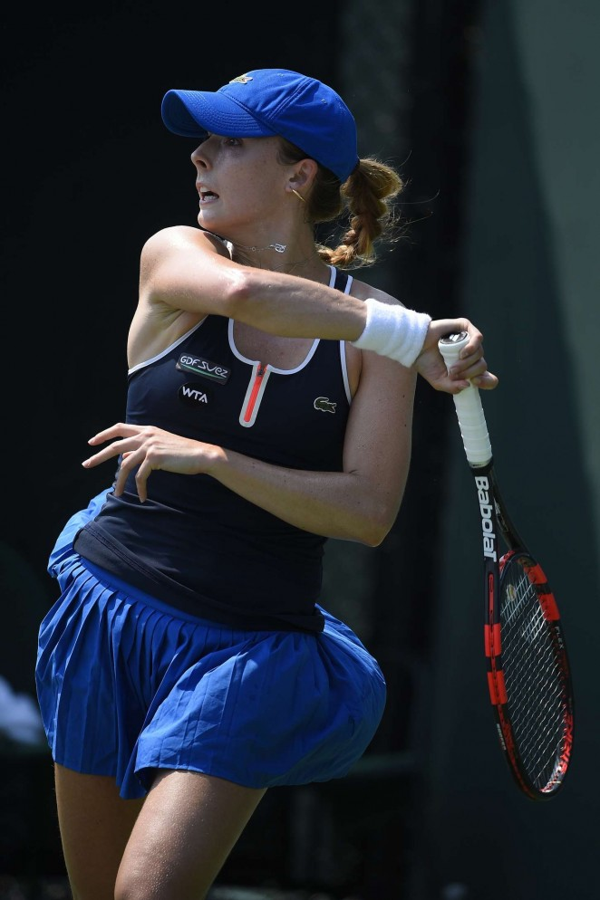 Alize Cornet - Miami Open 2015 in Key Biscayne