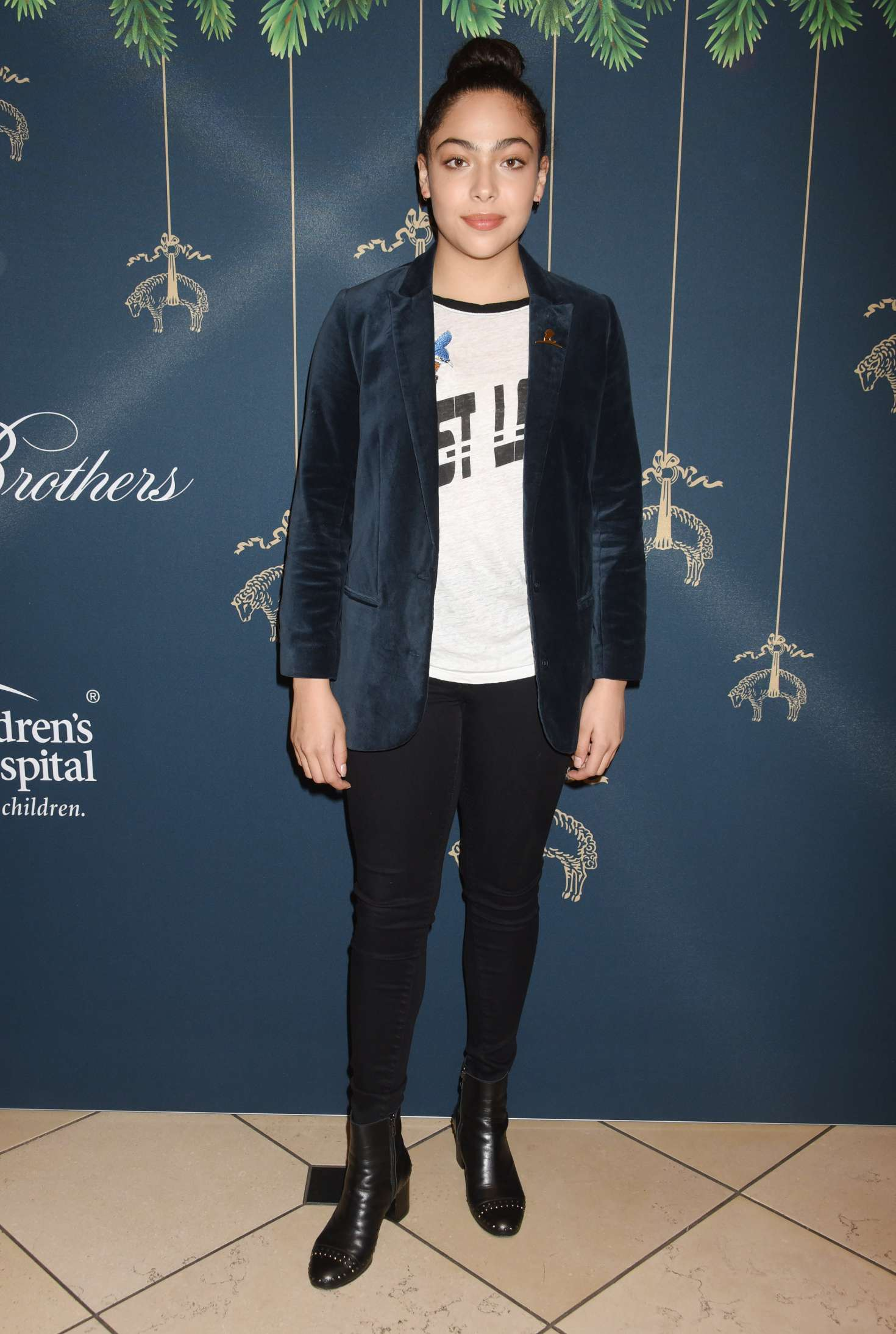 Allegra Acosta - Brooks Brothers Holiday Celebration in Beverly Hills