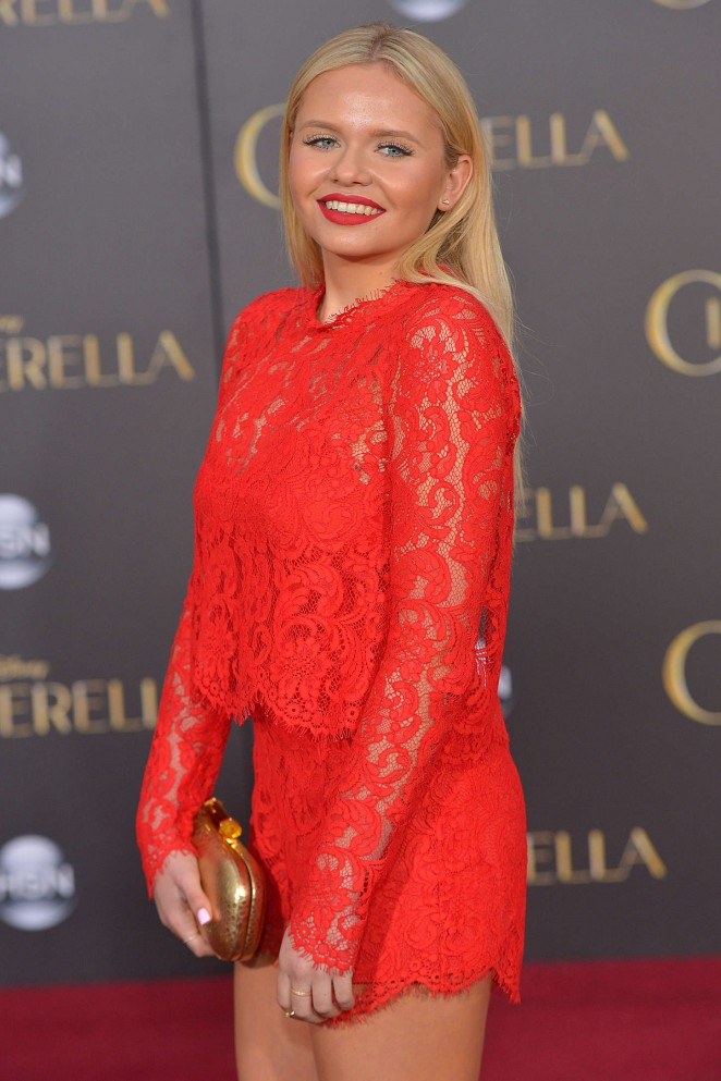 "Alli Simpson - ""Cinderella"" Premiere in Hollywood"