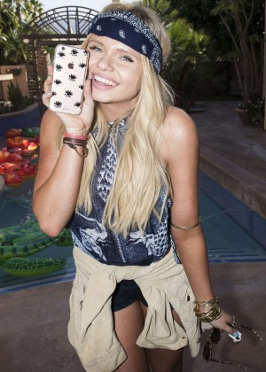 Alli Simpson - Just Jared Coachella Festival Party presented by Sonix in Indio