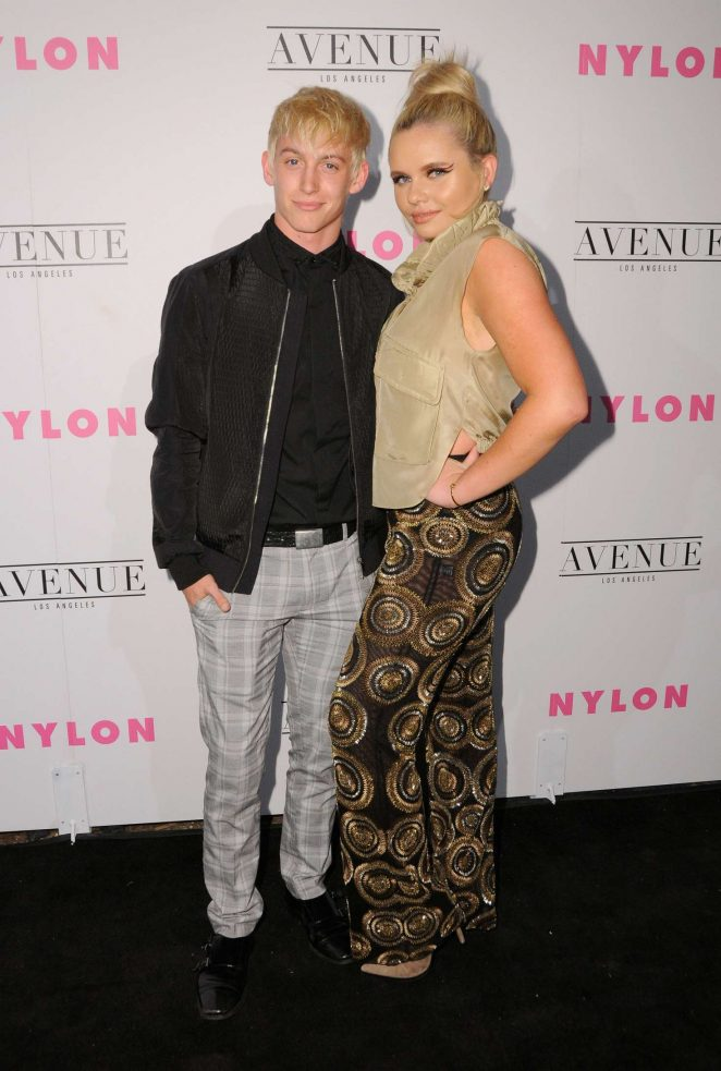 Alli Simpson: Nylon Young Hollywood May Issue Event -03