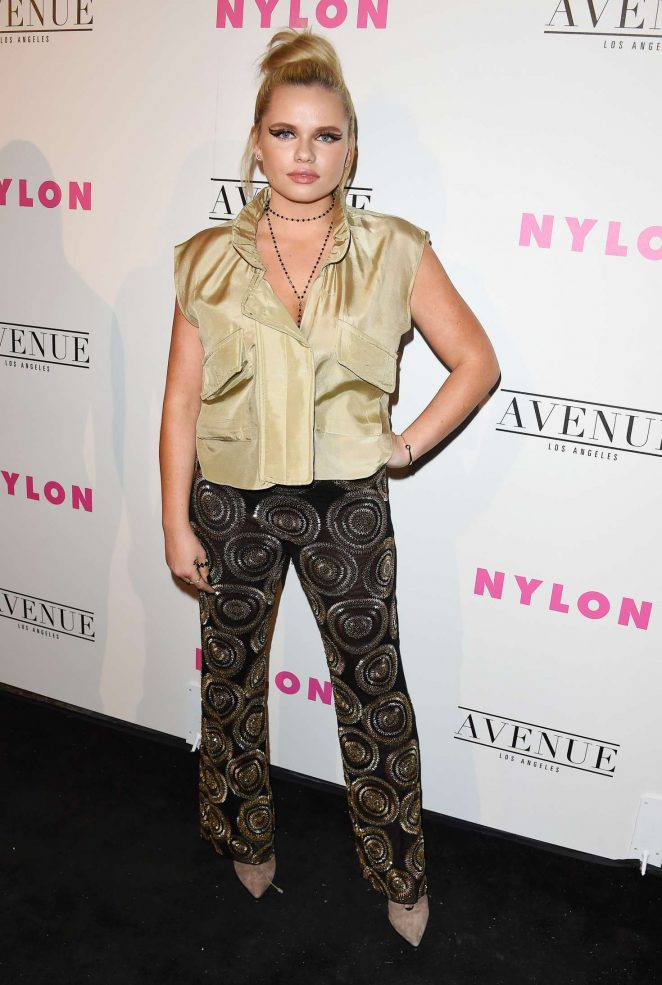 Alli Simpson: Nylon Young Hollywood May Issue Event -16