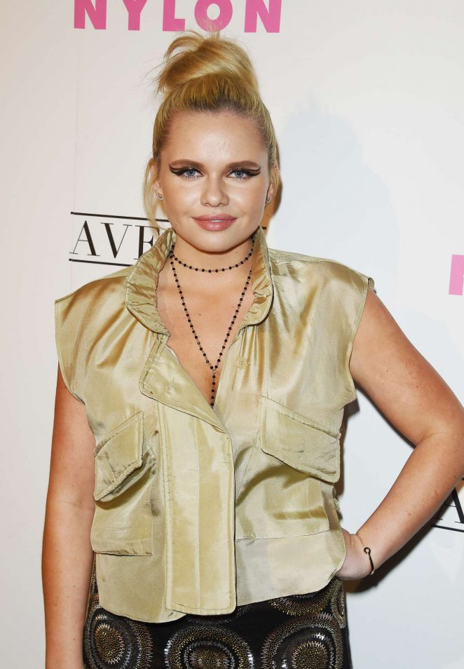 Alli Simpson: Nylon Young Hollywood May Issue Event -19