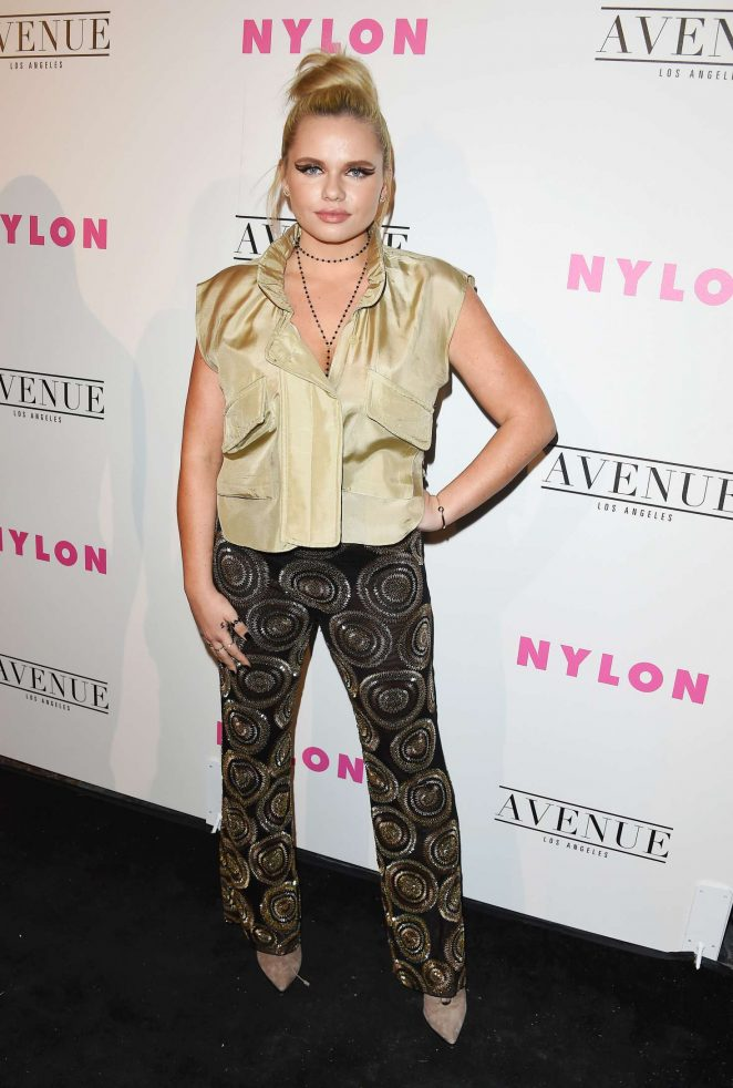 Alli Simpson: Nylon Young Hollywood May Issue Event -21