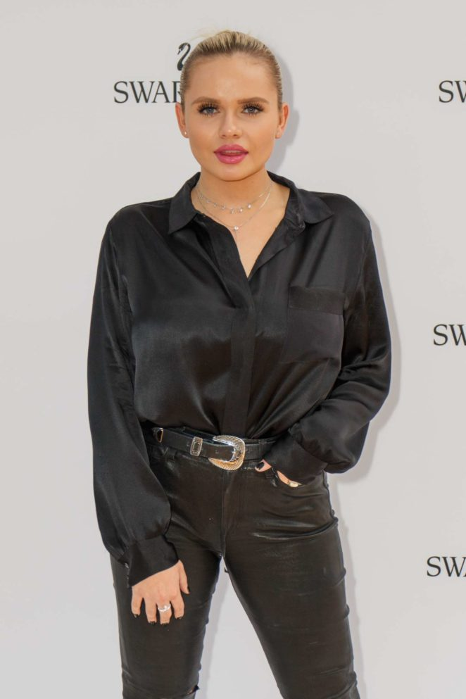 Alli Simpson - Swarovski Rainbow Paradise SS 2018 Collection in Sydney