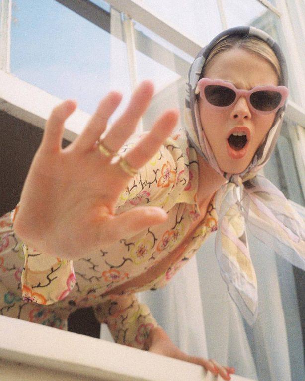 Allie Marie Evans - Davis Bates photoshoot (March 2021)