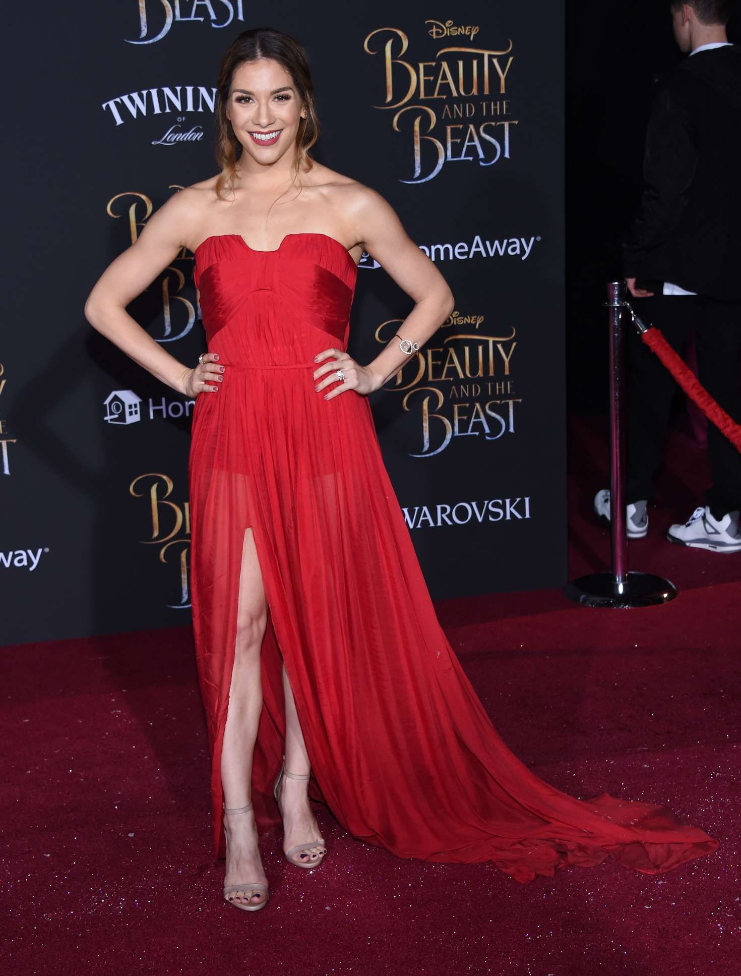 Allison Holker - 'Beauty and the Beast' Premiere in Los Angeles