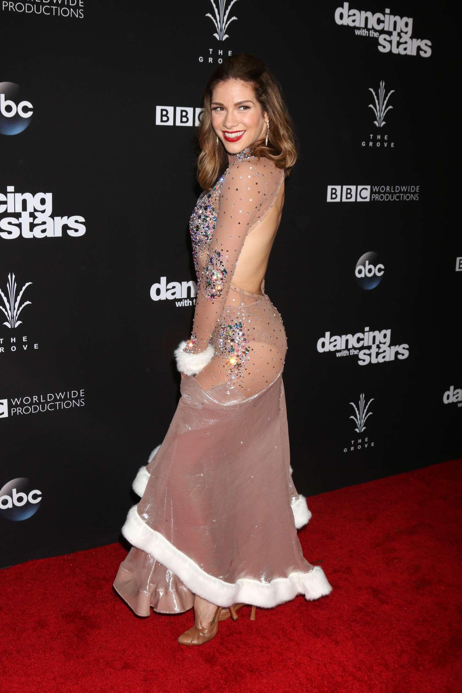 Allison Holker 2016 : Allison Holker: Dancing With the Stars Season 23 Finale -06