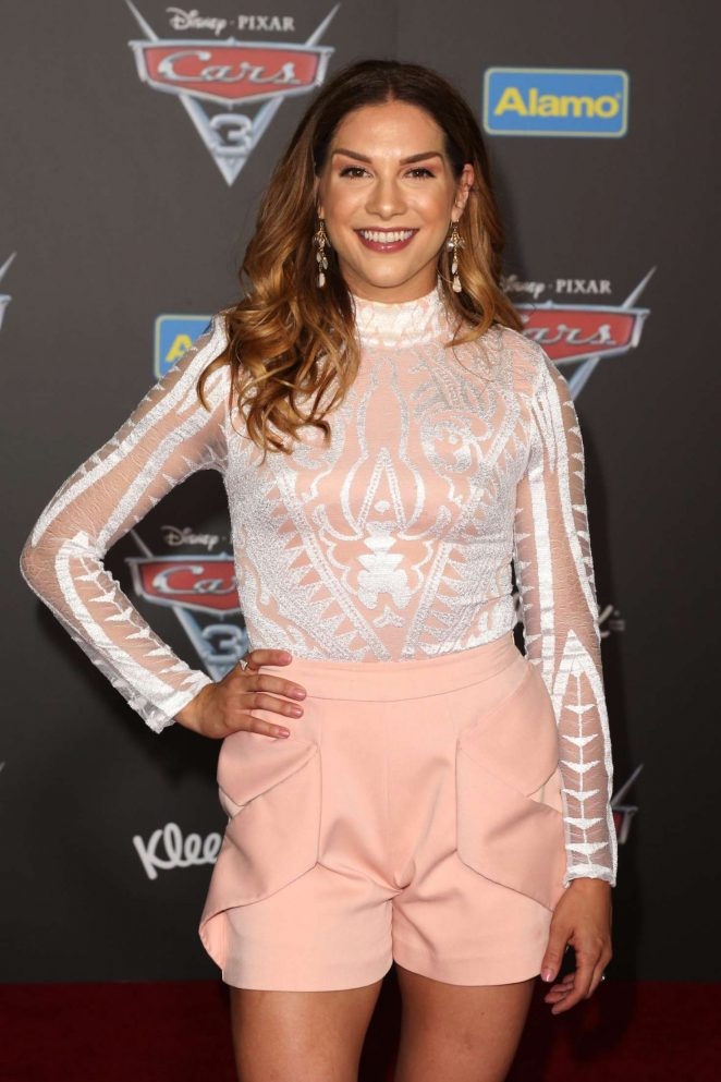 Allison Holker - Disney and Pixar's 'Cars 3' Premiere in Anaheim