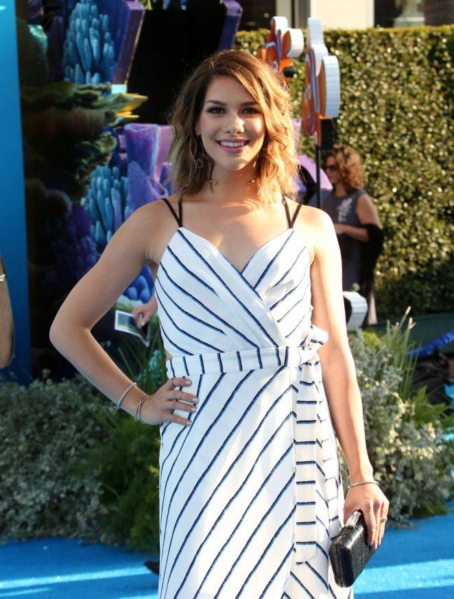 Allison Holker - 'Finding Dory' Premiere in Hollywood