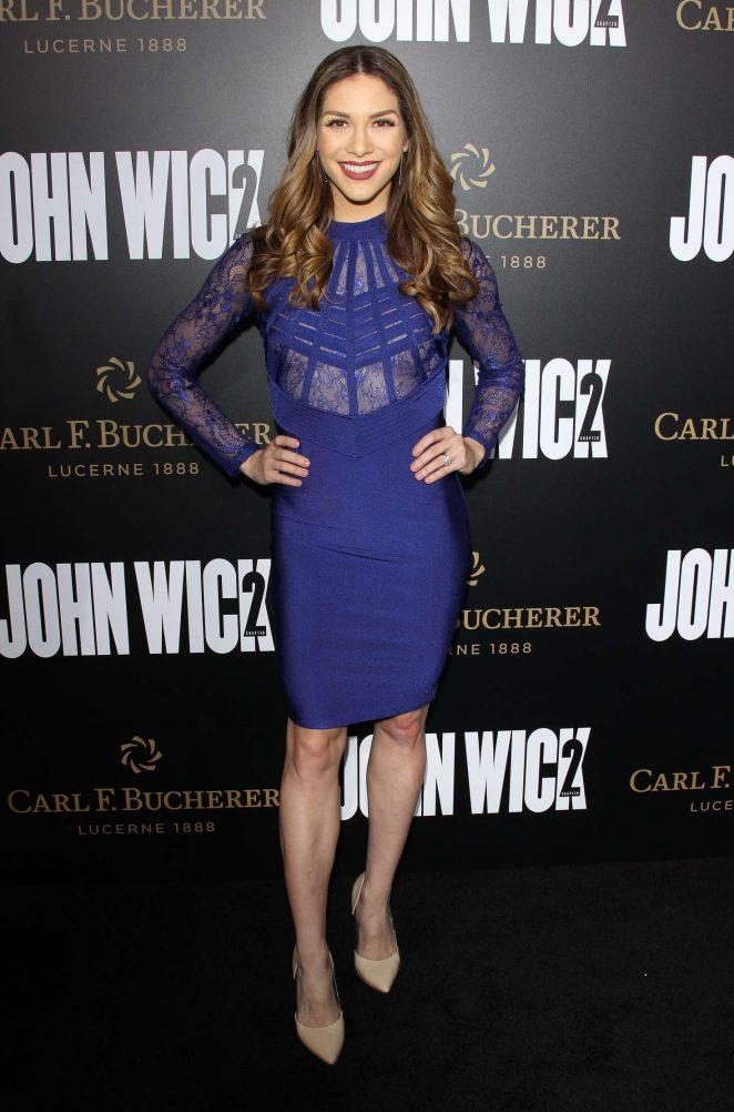 Allison Holker – 'John Wick Chapter 2' Premiere in Los Angeles