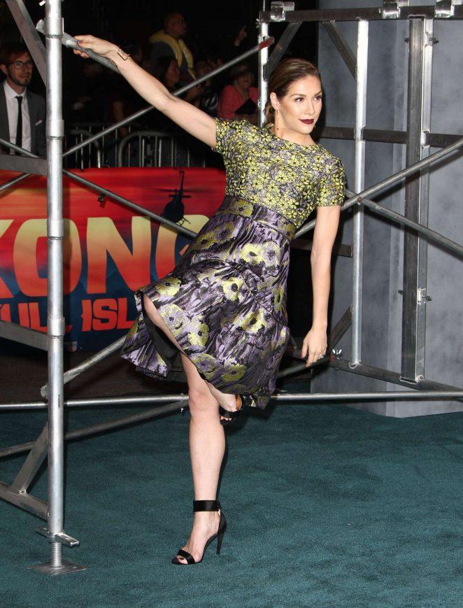 Allison Holker - 'Kong: Skull Island' Premiere in Hollywood