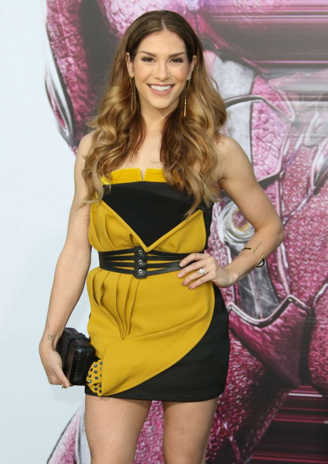 Allison Holker - 'Power Rangers' Premiere in Los Angeles