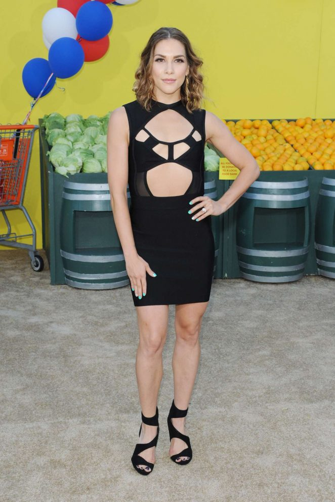 Allison Holker - 'Sausage Party' Premiere in Westwood