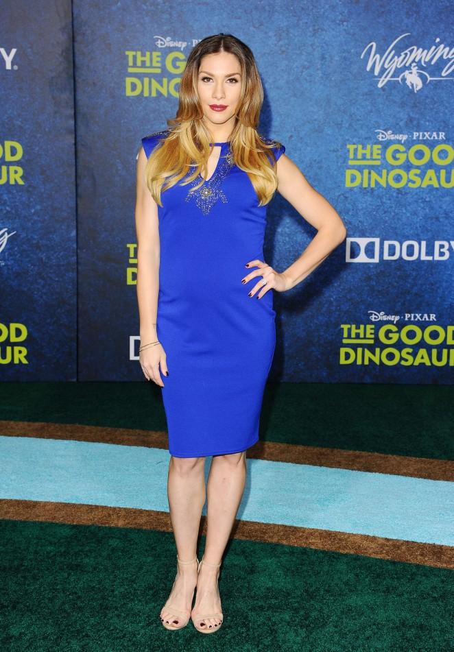 Allison Holker: The Good Dinosaur Premiere -08
